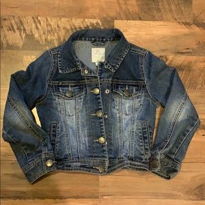 The Children's Place Girls Cropped Jean Jacket